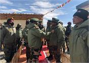 army chief visited forward areas in eastern ladakh