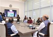rajnath singh nation six bridges  by bro in j k via video conferencing