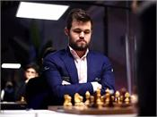 champion show down chess  carlsen takes the lead with a winning hat trick