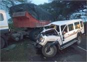 madhya pradesh road accident 5 workers death 7 injured