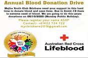 australia  blood donation camp