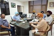 a delegation met the director animal husbandry