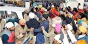 farmers protest against shiromani akali dal  badal