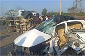 two killed in truck car accident