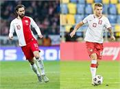 poland football team  2 players covid 19 positive