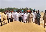 village bhagsar  khajal khuari  farmers  sri muktsar sahib