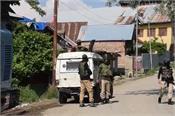 j k security forces militants three associates arrested