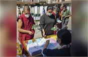 dharamshala tibetans cast votes in 26 countries for exile parliament
