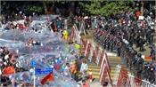 the junta has again cracked down on protesters in myanmar