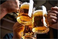 year after sales in beer sales