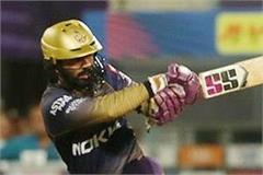 dinesh karthik made the best innings by the kolkata team