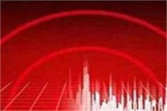 tremors of the earthquake in uttarkhand on the nicobar islands