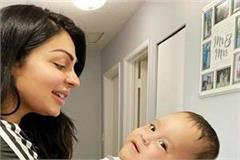 neeru bajwa shared emotional video for aryans fight against sma
