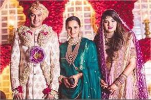 shoaib malik didn  t come to sania  s sister wedding