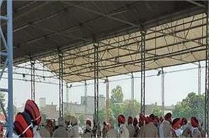 rahul gandhi tractor rally police administration