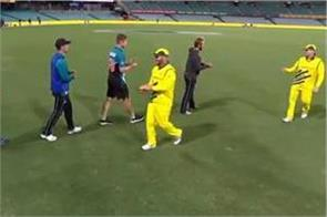new zealand australian players don  t shake hands over fear of corona virus