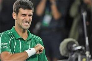 djokovic again becomes no  1 after defeating nadal