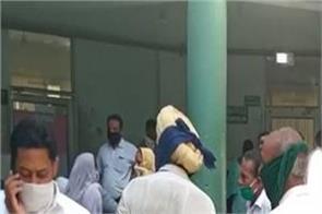bathinda  civil hospital  no social distance