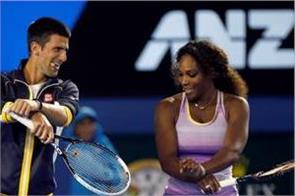 djokovic and serena look to win title at australian open