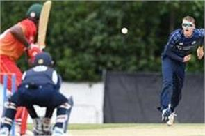 zimbabwe beat scotland by six wickets