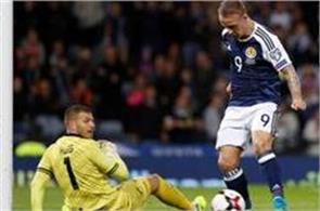 scotland slovenia win in world qualifying