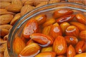 soaked almonds contain