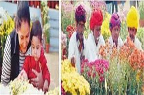 flower show in ludhiana