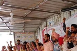hunger strike patiala teachers