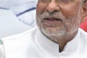 sp leader ram govind chaudhary got heart attack