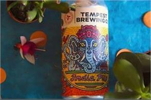 photo lord ganesha published on beer bottle in scotland  hindus protest