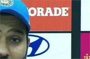 rohit has praised shikhar khalil after winning the windies
