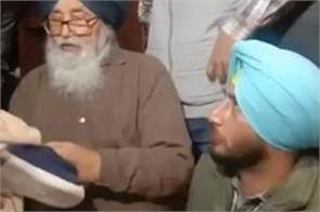 amritsar sukhbir badal parkash singh badal
