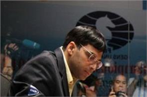 anand played a draw with carlsen