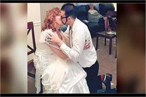 19 year old falls in love with and marries 72 year old grandmother