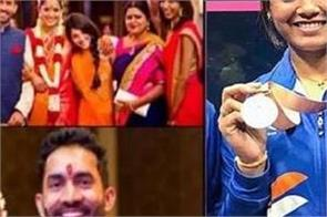 the cricketer  s wife has won many medals for the country
