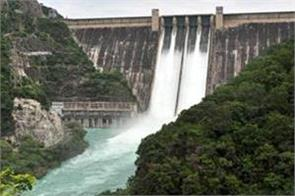 the water level in all the dams is reduced