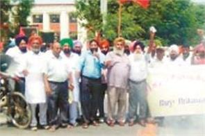 punjab struggle committee protests protests