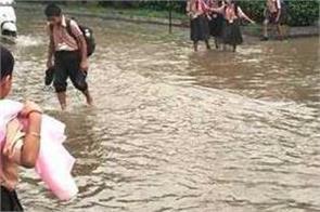 rain city water level