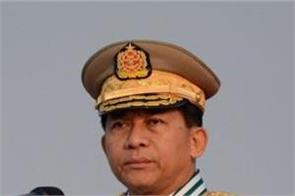 myanmar army chief