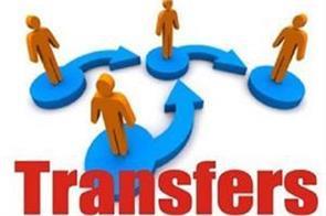 4 ias officers transfer