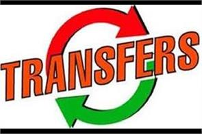 17 ias 12 pcs on officers transferred