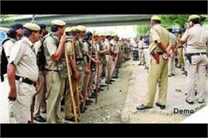 gurdaspur 400 policemen  problem
