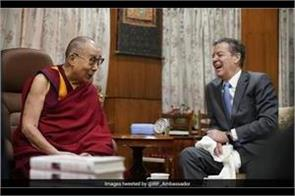 us diplomat meets dalai lama on religious freedom in india
