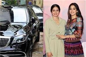 janhvi kapoor s new luxurious mercedes maybach