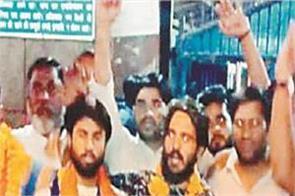 guru ravidas temple  arrested  jalandhar  tughlaqabad