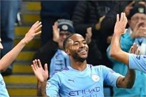 sterling blasts 11 minute treble as man city run riot