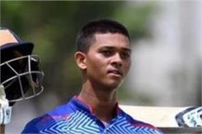 17 year old yashasvi jaiswal score double century in vijay hazare trophy