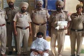 cheema mandi  drug pills  person arrested