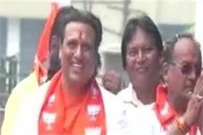 maharashtra assembly elections bjp candidate govinda election campaign