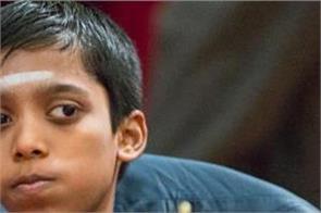 chess  india  s r pragyananda on joint lead